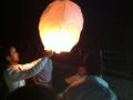 RVF lâcher de lanternes