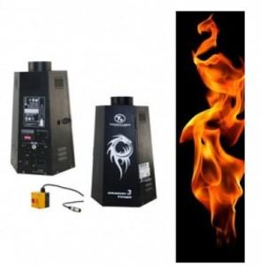 Lanceur de flammes avec cartouche de gaz co2 (30 flammes environ) 144.17€ ht/j pièce (4 dispo)